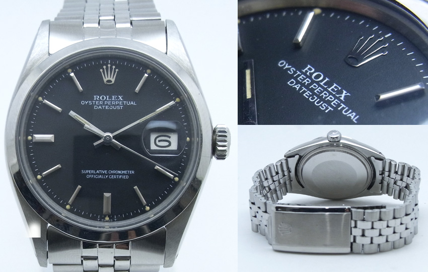 sports shoes 97699 0bbc1 ROLEX ロレックス OYSTER PERPETUAL DATEJUST オイスター ...